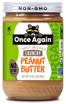 Once Again Crunchy Peanut Butter (Case of 12)