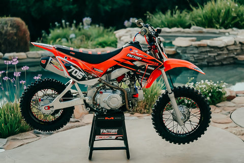 Factory Built Honda CRF110F