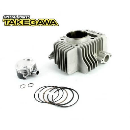 Takegawa 138cc +R/V2 Replacement Cylinder & Piston Kit - KLX110 - The Best Minimoto, Pitbike, Minibike Source - Factory Minibikes