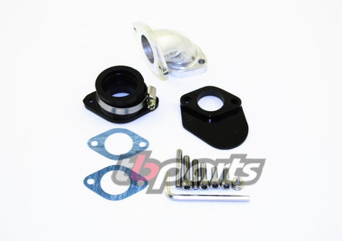 Intake Kit - 26/28mm Carbs – TB Race Head V2 - CRF Port - The Best Minimoto, Pitbike, Minibike Source - Factory Minibikes
