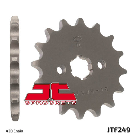 JT Front Sprocket - KLX110 / Z125 - The Best Minimoto, Pitbike, Minibike Source - Factory Minibikes