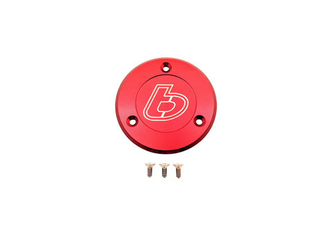TB Parts Billet Ignition Case Cover - RED - The Best Minimoto, Pitbike, Minibike Source - Factory Minibikes