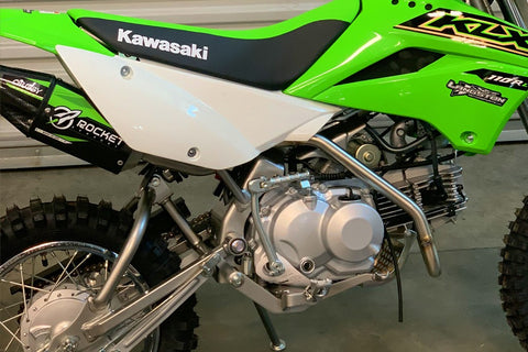 Rocket Exhaust Chubby System - KLX110/L/R - Factory Minibikes