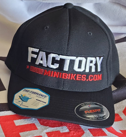 Factory Minis Flex-Fit Hat - The Best Minimoto, Pitbike, Minibike Source - Factory Minibikes