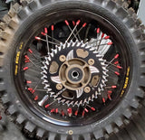 Aluminum CAT5 Rear Sprocket - Black - Vortex - The Best Minimoto, Pitbike, Minibike Source - Factory Minibikes