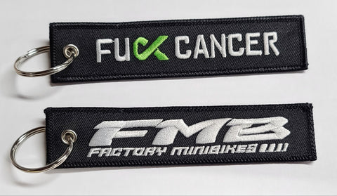FMB x fCancer Keychain - The Best Minimoto, Pitbike, Minibike Source - Factory Minibikes