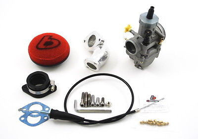 28mm Carb & Intake Kit for Race Heads - KLX DRZ 110 - TBW9026 - The Best Minimoto, Pitbike, Minibike Source - Factory Minibikes