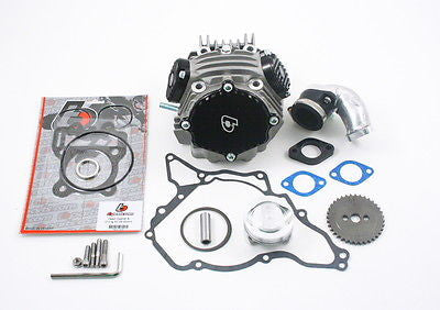 143cc Race Head Kit for 143cc 60mm Bore - KLX DRZ 110 - TBW0989 - The Best Minimoto, Pitbike, Minibike Source - Factory Minibikes