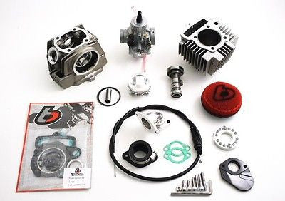 Honda TRX90 114cc Race Head Bore Kit w/ Mikuni VM26 Carb and Race Cam - TBW9146 - The Best Minimoto, Pitbike, Minibike Source - Factory Minibikes