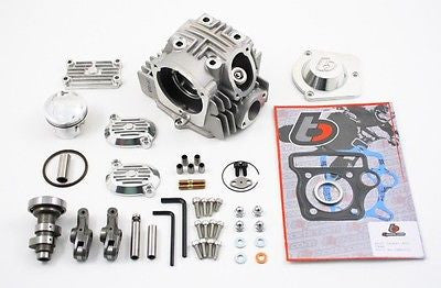 TB Parts 52mm V2 Race Head Upgrade Kit - CRF50 XR50 CRF70 XR70 Z50 - TBW9102 - The Best Minimoto, Pitbike, Minibike Source - Factory Minibikes