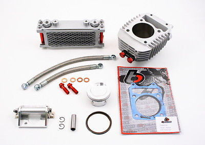 186cc Big Bore Performance Kit w/ Oil Cooler - Honda Grom & MSX125 - TBW9154 - The Best Minimoto, Pitbike, Minibike Source - Factory Minibikes