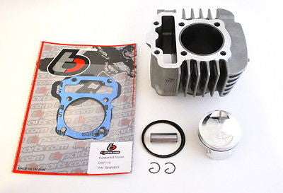 132cc 55mm Big Bore Kit - Honda CRF110 - TBW9138 - The Best Minimoto, Pitbike, Minibike Source - Factory Minibikes