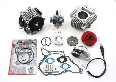 TB Parts 143cc Race Head Kit & VM26mm Carb Kit - Kawasaki KLX DRZ 110 - TBW0988 - The Best Minimoto, Pitbike, Minibike Source - Factory Minibikes