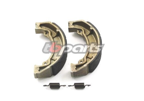 Replacement Brake Shoe Set w/ Springs - Rear - KLX110 DRZ110 KLX110L - TBW0851 - The Best Minimoto, Pitbike, Minibike Source - Factory Minibikes