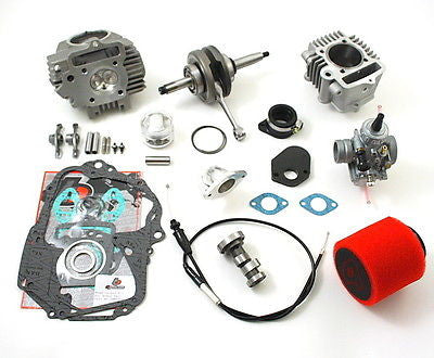 108cc Stroker Bore Kit #3 - TB Parts - TBW0968 - '88-Current Honda CRF XR Z 50 and 70 - The Best Minimoto, Pitbike, Minibike Source - Factory Minibikes