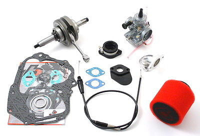 108cc Stroker Bore Kit #2 - TB Parts - TBW0967 - '88-11 Honda CRF XR Z 50 and 70 - The Best Minimoto, Pitbike, Minibike Source - Factory Minibikes