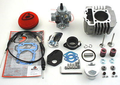 132cc Big Bore w/Mikuni VM26 & OS Valve Kit - 13-18 CRF110 - TBW9139 - The Best Minimoto, Pitbike, Minibike Source - Factory Minibikes