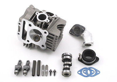 TB Parts V2 Race Head & Intake Kit - Kawasaki KLX 110 DRZ - TBW9018 - The Best Minimoto, Pitbike, Minibike Source - Factory Minibikes
