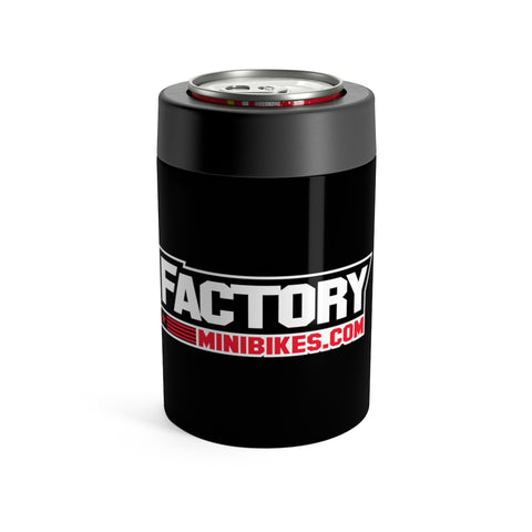 Factory Minis Beer Can Cooler - Black - The Best Minimoto, Pitbike, Minibike Source - Factory Minibikes