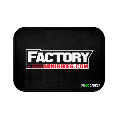 Factory Minis Bath Mat - The Best Minimoto, Pitbike, Minibike Source - Factory Minibikes