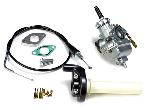 BBR 18mm Big Carb Kit - 13-18 Honda CRF110 - The Best Minimoto, Pitbike, Minibike Source - Factory Minibikes