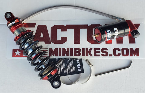 Elka Stage 4 Mini Series Remote Reservoir Shock - Honda CRF110 13-18 ONLY!! - The Best Minimoto, Pitbike, Minibike Source - Factory Minibikes