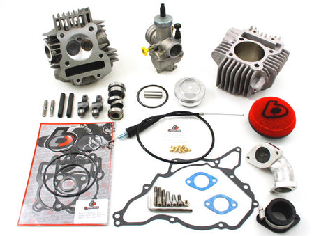 165cc V2 Race Head & 28mm Carb Kit - KLX DRZ 110 - TBW9029 - The Best Minimoto, Pitbike, Minibike Source - Factory Minibikes