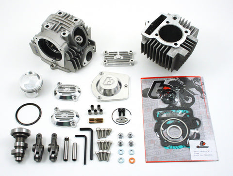 114cc V2 Roller Rocker Race Head Bore Kit - 90-110cc Imports - TBW9107 - The Best Minimoto, Pitbike, Minibike Source - Factory Minibikes