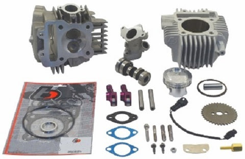 TB Parts 178cc V2 Roller Rocker Race Head Big Bore Kit - Z125 Pro - TBW9178 - The Best Minimoto, Pitbike, Minibike Source - Factory Minibikes