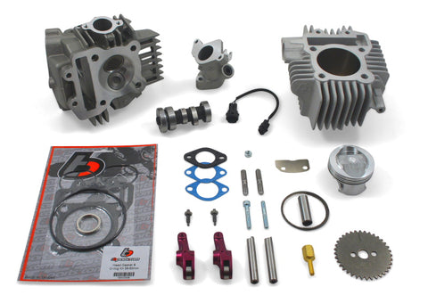 TB Parts 143cc Big Bore Kit (incl. Race Head V2, & Intake Manifold Kit) - TBW9175 - The Best Minimoto, Pitbike, Minibike Source - Factory Minibikes