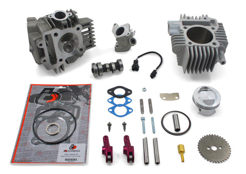 TB Parts 165cc V2 Roller Rocker Race Head Big Bore Kit - Z125 Pro - TBW9177 - The Best Minimoto, Pitbike, Minibike Source - Factory Minibikes