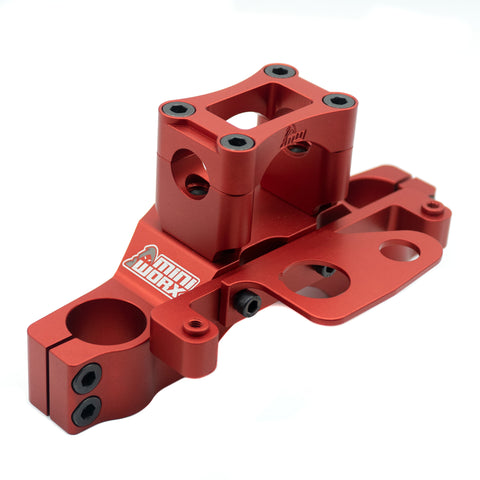 MINIWORX Co Billet Triple Clamp - CRF110 - Factory Minibikes