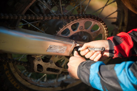 Changing and Adjusting Chain Tension - Factory Minibikes