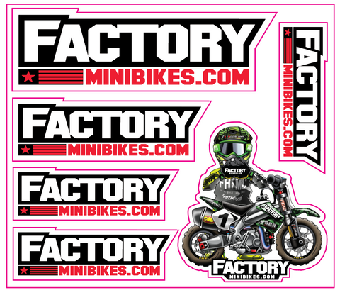 CRF110 – Factory Minibikes