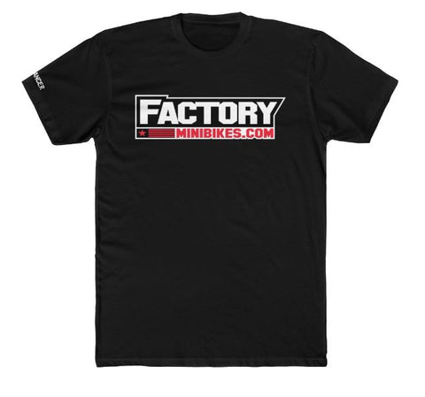 New 2019 Factory Minis Mens Tee w/ F*Cancer Logo - The Best Minimoto, Pitbike, Minibike Source - Factory Minibikes
