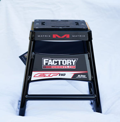 Factory Series Mini Stand - CRF110 - The Best Minimoto, Pitbike, Minibike Source - Factory Minibikes