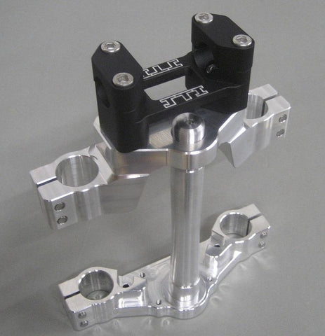 Complete Billet Triple Clamp Set - JTI Products - The Best Minimoto, Pitbike, Minibike Source - Factory Minibikes