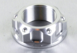 Aluminium Steering Stem Nut - Open Flanged M22 x 1.00mm - Factory Minibikes