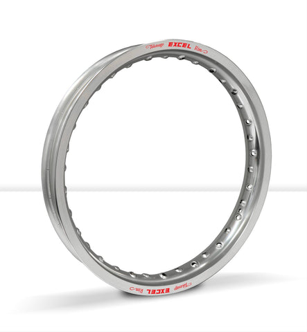 "Excel Takasago Rim - KCS412 - 10"" 28 Hole - Silver - CRF50 XR50 - The Best Minimoto, Pitbike, Minibike Source - Factory Minibikes"