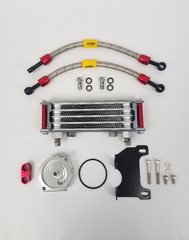 Morin Racing High Performance Oil Cooler Kit - Honda Grom - The Best Minimoto, Pitbike, Minibike Source - Factory Minibikes