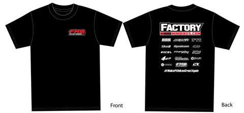 New FMB Race Tee - Adult - The Best Minimoto, Pitbike, Minibike Source - Factory Minibikes