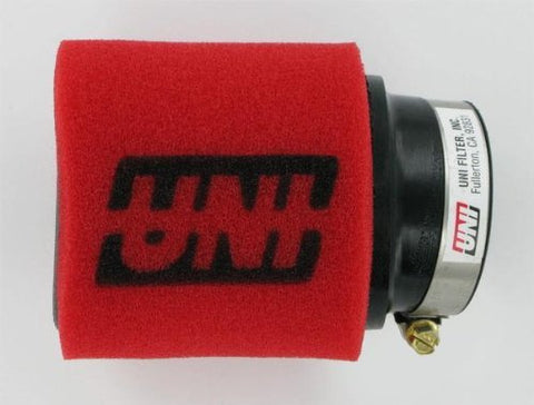 "UNI Two-Stage Pod Filter Angled Mount - 1.5"" ID x 4"" Long - The Best Minimoto, Pitbike, Minibike Source - Factory Minibikes"