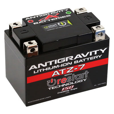 ANTIGRAVITY BATTERIES RE-START LITHIUM BATTERY ATZ-7 - The Best Minimoto, Pitbike, Minibike Source - Factory Minibikes