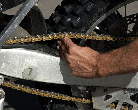 How to Tighten a Dirt Bike Chain - Factory Minibikes