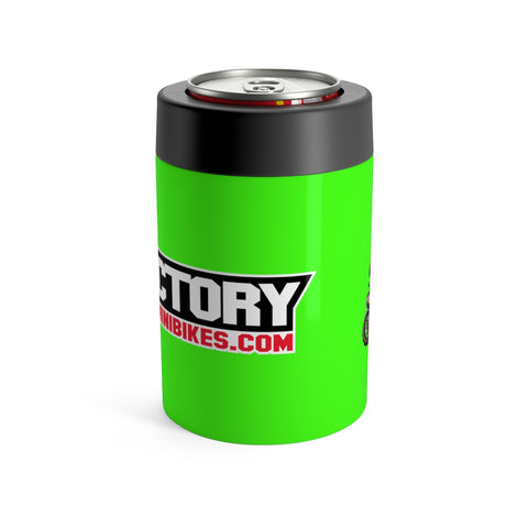 Factory Minis Beer Can Cooler - Kawi Green - The Best Minimoto, Pitbike, Minibike Source - Factory Minibikes