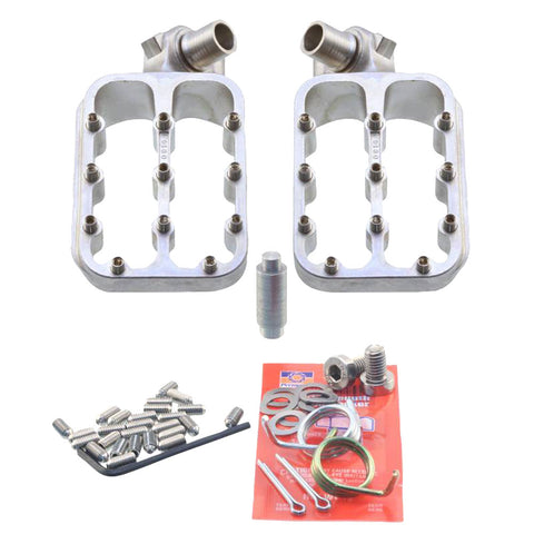 Fastway Evo III Foot Pegs - KLX110 & 110L Corso Plate or Two Bros HD Mount - The Best Minimoto, Pitbike, Minibike Source - Factory Minibikes