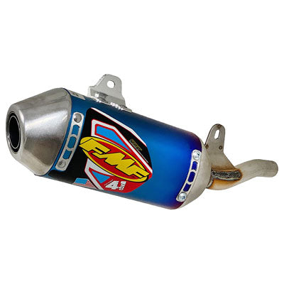 FMF Mini Factory-4.1 RCT Anodized Titanium Silencer with Stainless Steel End Cap - Factory Minibikes