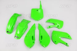 Kawi Green Plastic Kit - UFO - 2002-2009 KLX110 & DRZ110 - The Best Minimoto, Pitbike, Minibike Source - Factory Minibikes