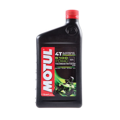 Motul 5100 Synthetic Blend 4-Stroke Motor Oil 10W-40 1 Liter - The Best Minimoto, Pitbike, Minibike Source - Factory Minibikes