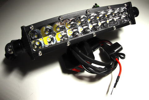Plus and Play LED Light Bar Kit - 4200 Lumens - The Best Minimoto, Pitbike, Minibike Source - Factory Minibikes